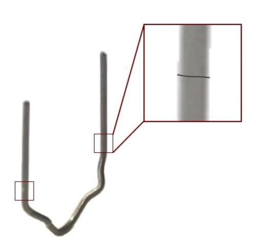CLIP CANELADO 0.6MM (24) P/PLASTIFIX - BOLSA 100 UN