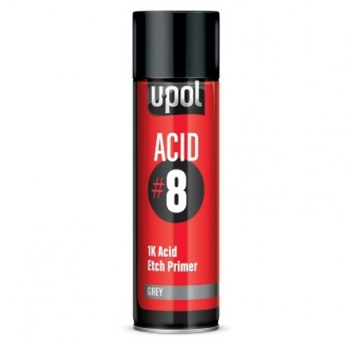 SPRAY PRIMÁRIO ACID#8 DE ANCORAGEM U-POL 450ML