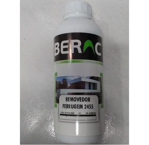 REMOVEDOR DE FERRUGEM 2455 BERAC 1L.