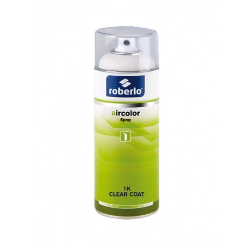 SPRAY ROBERLO VERNIZ AIRCOLOR 1K SPOT CLEAR 400ML