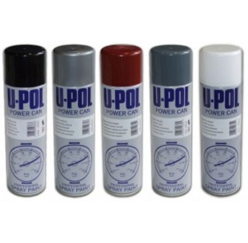 SPRAY PRETO FOSCO ACRILICO U-POL 500ML
