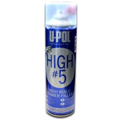SPRAY APARELHO HIGH 5 GRIS/ESCURO  E PRETO U-POL 500ML