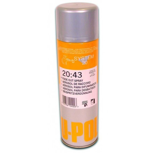SPRAY DILUENTE PARA RETOQUES U-POL 20:43 500ML