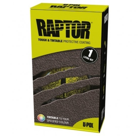 RAPTOR LINE PRETO/ TINTAVEL KIT 1LITRO + 250ML