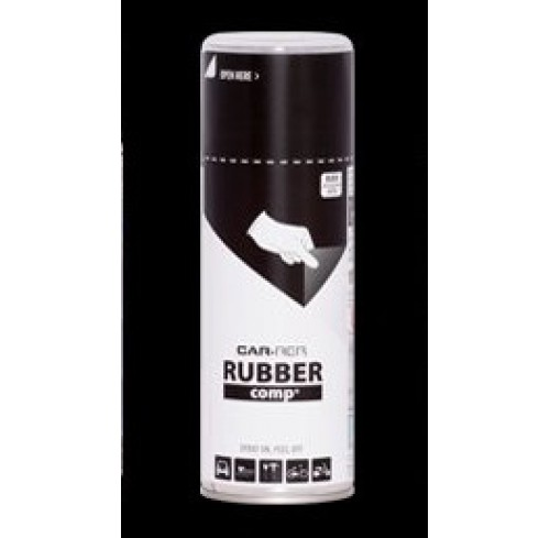 SPRAY BLACK MATT RUBBER 400ML