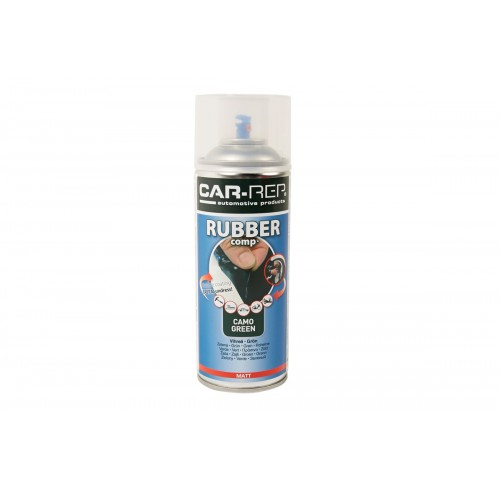 SPRAY CAMO GREEN RUBBER 400ML